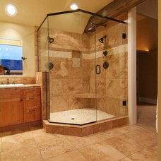 Bathroom by Western Oregon Builders