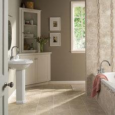Traditional Bathroom by Worldwide Wholesale Floor Coverings