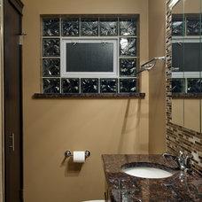 Contemporary Bathroom by Worthy Builders,Inc