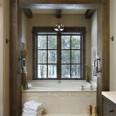 Traditional Bathroom by Centre Sky Architecture Ltd