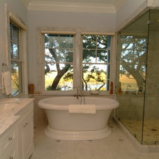 Transitional Bathroom by Architrave