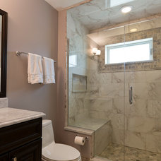 Transitional Bathroom by Bradford And Kent
