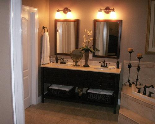 Tropical Bathroom Beach Decor: Tropical Bathroom Design Ideas, Pictures, Remodel & Decor