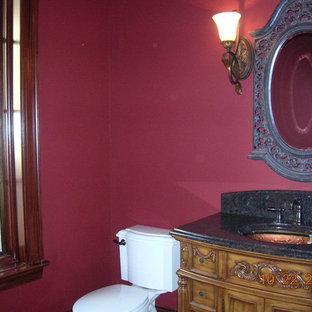シャーロットのトラディショナルスタイルのおしゃれな浴室の写真