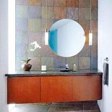 Eclectic Bathroom by Inhabiture Build + Design