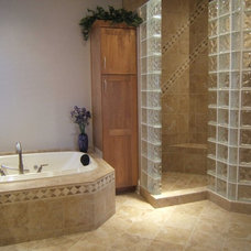 Traditional Bathroom by Level One Construction Co., LLC