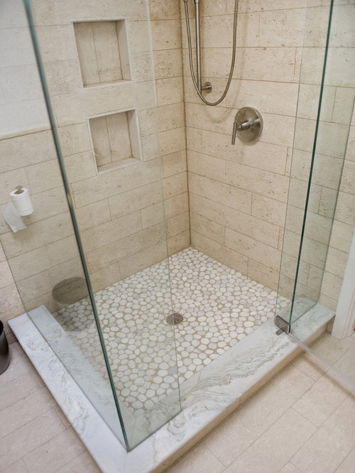 Granite Shower Curb Home Design Ideas Pictures Remodel And Decor