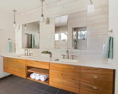 contemporary bathroom design ideas remodels photos - Contemporary Bathroom Design Ideas