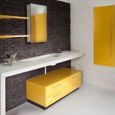 Contemporary Bathroom by Madeval USA