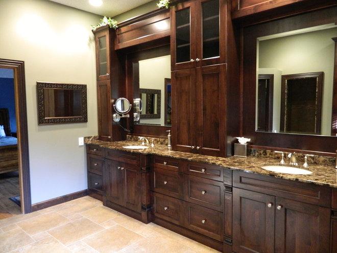 Traditional Bathroom by Marlene Ritland, CKD - Kitchen Depot