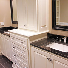 Traditional Bathroom by Profile Cabinet