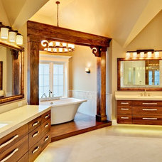 Asian Bathroom by Southampton Builders