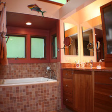 Contemporary Bathroom by K Squared Builders - Dale Kramer