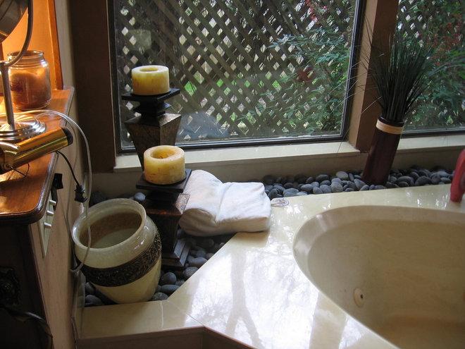 Asian Bathroom by On Time Baths