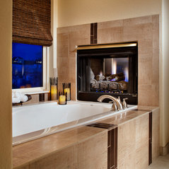 Lovely Parker, CO. Contemporary Bathroom Remodel