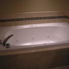 Modern Bathroom by Polski Remodeling & Flooring