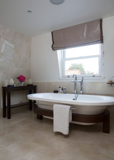 Contemporary Bathroom by Emma Green Design