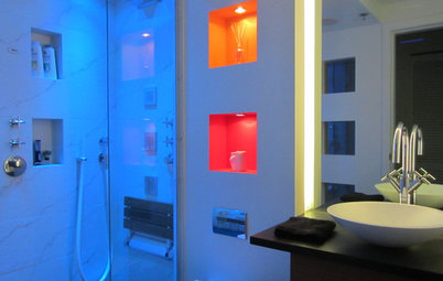 Bath Design: Renew Body and Mind With Colorful Light