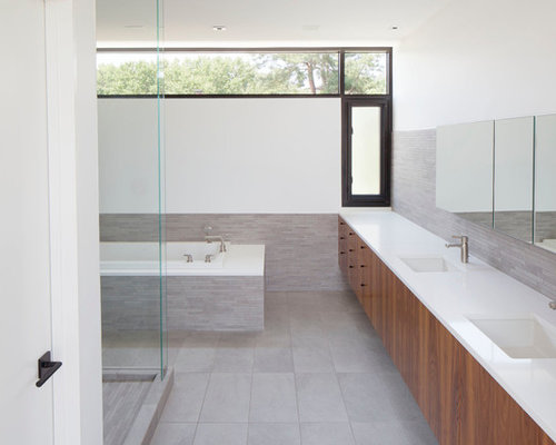 grey and white bathroom ideas, pictures, remodel and decor, Home decor
