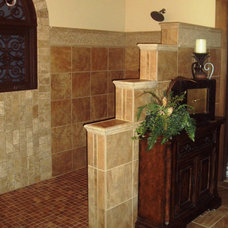 Traditional Bathroom by Department of Interiors, Ltd.