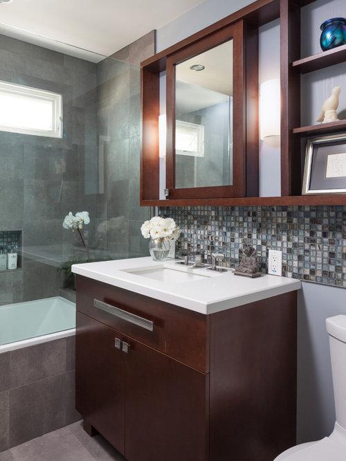 Small Bathroom Tile Design | Houzz