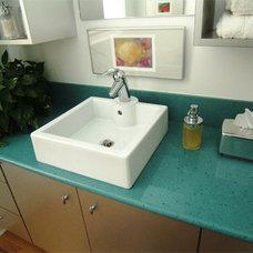 Contemporary Bathroom by Bay Cabinetry & Design Studio