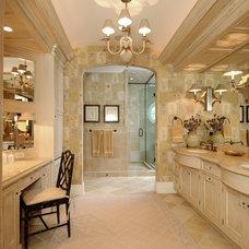 Beach Style Bathroom by Diane Snyder, ASID