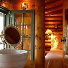 Rustic Bathroom by Albertsson Hansen Architecture, Ltd