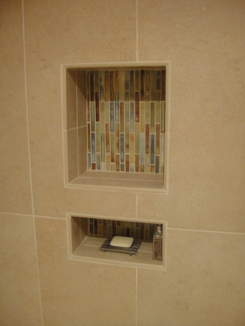 modern bathroom design ideas, remodels & photos with matchstick tile