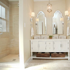 Traditional Bathroom by Oasis Photography