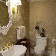 Traditional Bathroom by michele delisle design group inc.