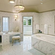 Traditional Bathroom by Bruce Palmer Interior Design