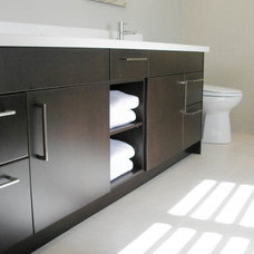 Contemporary Bathroom by Oakville Kitchen and Bath Centre