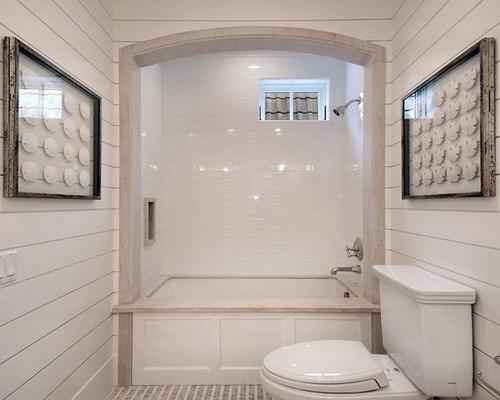 White Shower Tile
