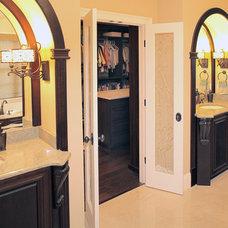 Mediterranean Bathroom by Devonshire Custom Homes