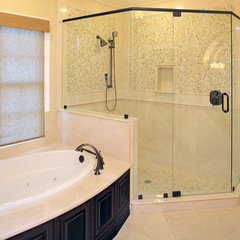 mediterranean bathroom by Devonshire Custom Homes
