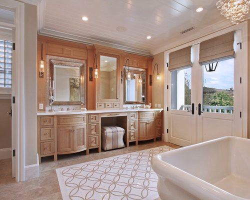 Master bath vanity houzz for Master bathroom vanity