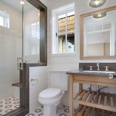 Beach Style Bathroom by Brandon Architects, Inc.