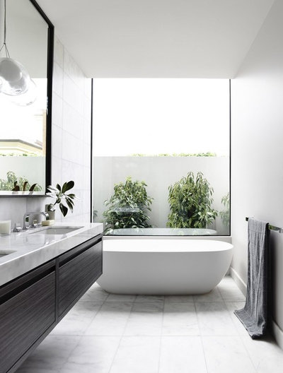 Contemporary Bathroom by Rob Mills Architecture & Interiors