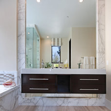 Contemporary Bathroom by Patterson Custom Homes