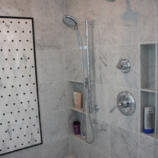 Contemporary Bathroom by Design Group Three