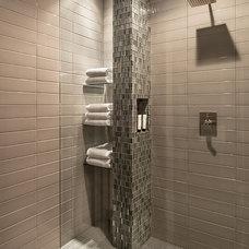 Contemporary Bathroom by Laura Kehoe Design