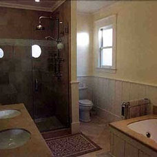 Traditional Bathroom by BBC Construction Inc.