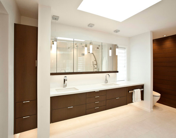Room of the Day: New Layout, More Light Let Master Bathroom Breathe