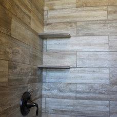 Bathroom by THE MASONRY CENTER INC