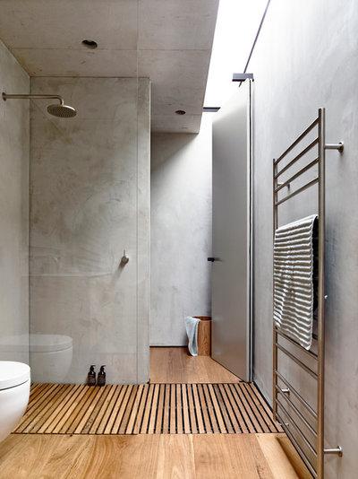 Moderne Badeværelse by Schulberg Demkiw Architects