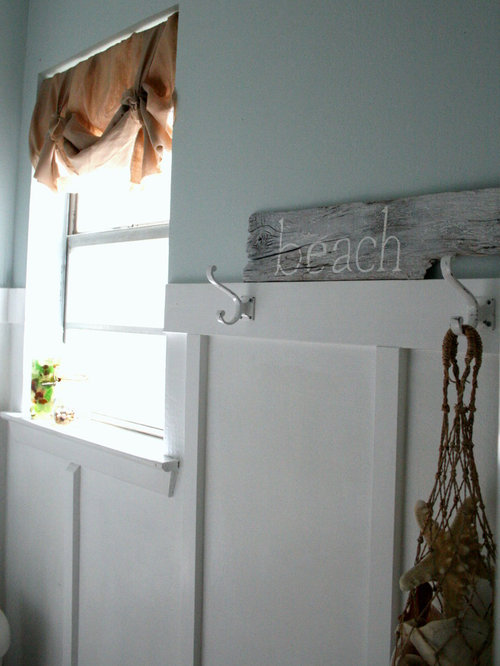 inspiration for a beach style bathroom remodel in dallas