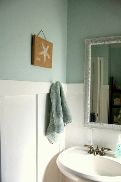 Beach Style Bathroom by The Virginia House
