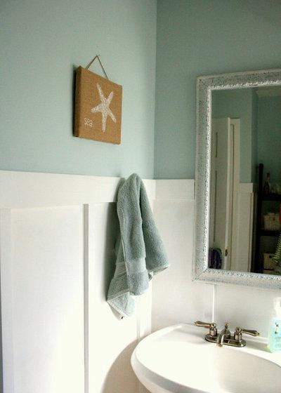 Beach Style Bathroom by The Virginia House