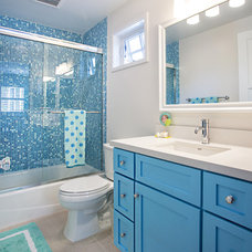 Traditional Bathroom by Audrey Sato Design Studio